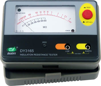 Electrical Insulation Resistance Tester DY3165