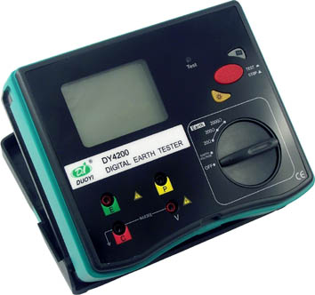 Digital Earth Resistance Tester DY4200