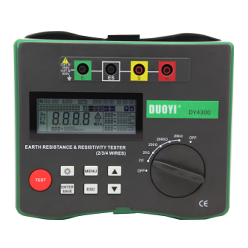 DY4300A  4-Terminal Earth Resistance Testers & Soil Resistivity Testers